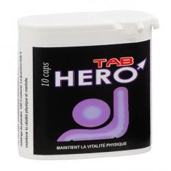 HEROTab (10 gélules) aphrodisiaque homme puissant.
