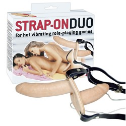 Strap-on Duo vibrant