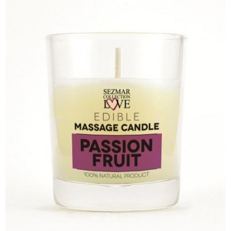 Bougie de massage Fruit de la passion