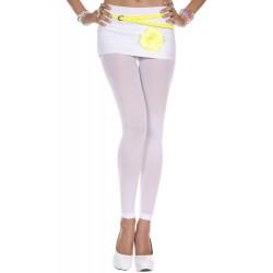 Leggings opaque, couleur white