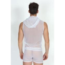 V-Shirt Malibu II Blanc