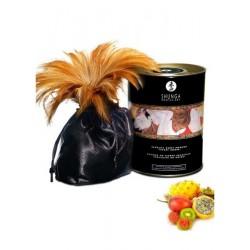 Poudre de massage corporelle comestible fruits exotiques 228grs