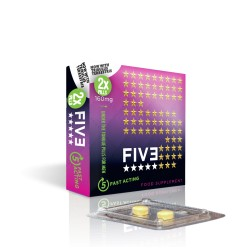 Five, aphrodisiaque ultra performant pour homme x 10 !