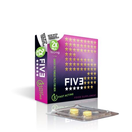 Five, aphrodisiaque ultra performant pour homme x 10 !