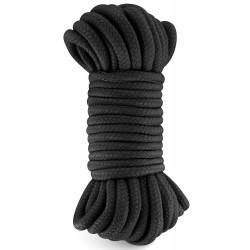 Corde de bondage shibari noire 10M