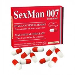 Stimulant SexMan 007 10 gélules
