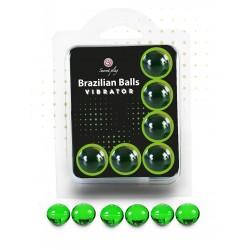 6 boules Brésiliennes effet vibrant - BZ35912