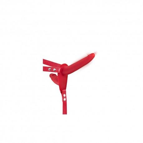 Double gode ceinture rouge vibrant - CC5310020030