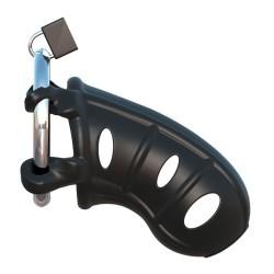 Cage de chasteté en silicone pour pénis C-Ringz - R542539