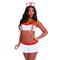 Costume infirmière 4 pièces - DG12227COS